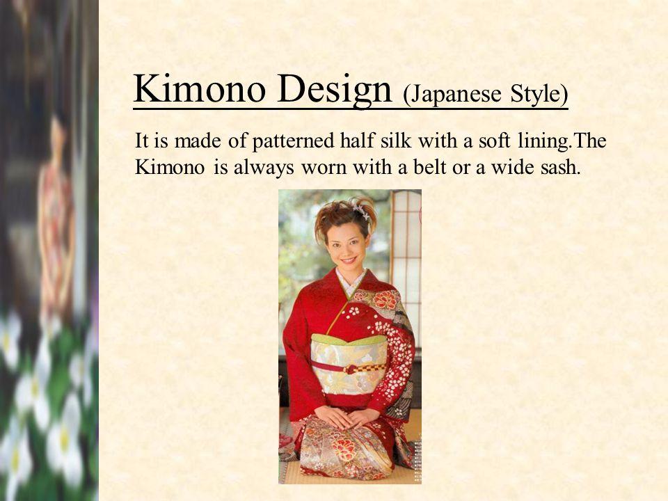 Kimono Design (Japanese Style)