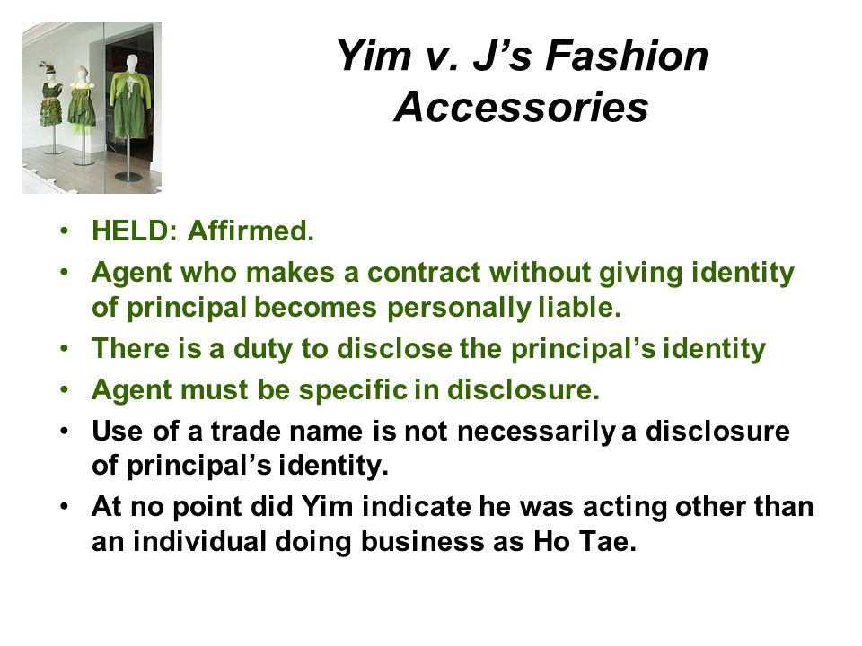Yim v. J's Fashion Accessories