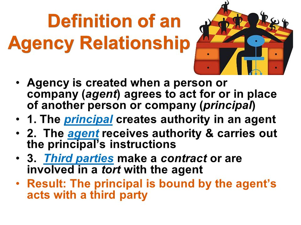 Definition of an Agency Relationship