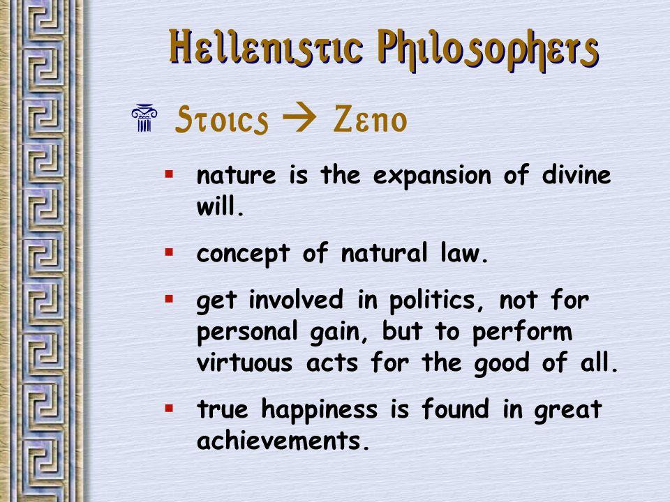 Hellenistic Philosophers