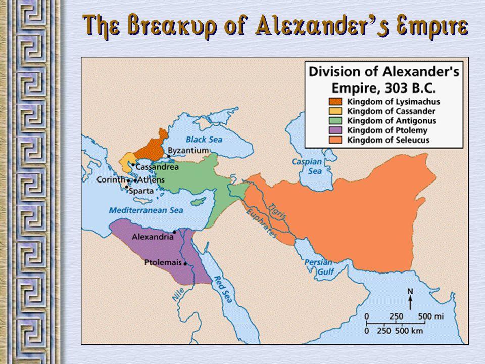 The Breakup of Alexander's Empire