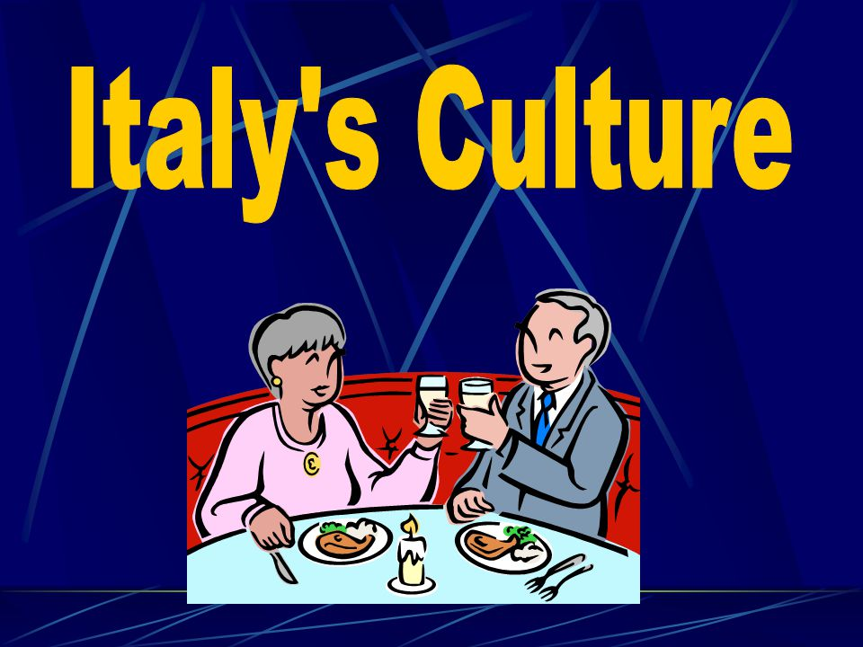 Italy s Culture