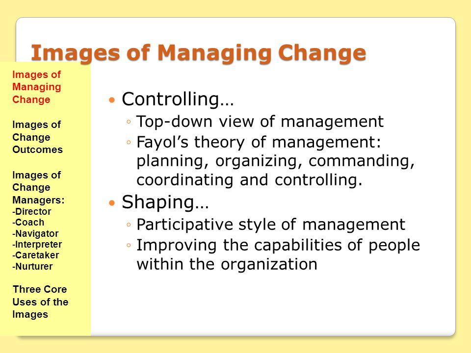 Images of Managing Change