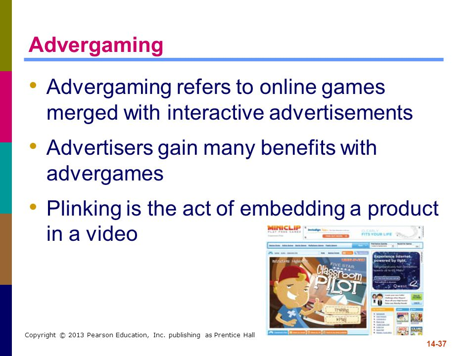 Advertisers gain many benefits with advergames