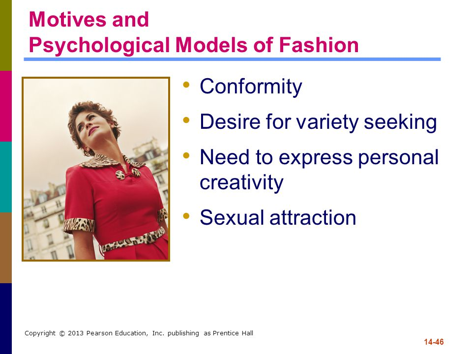 Motives and Psychological Models of Fashion