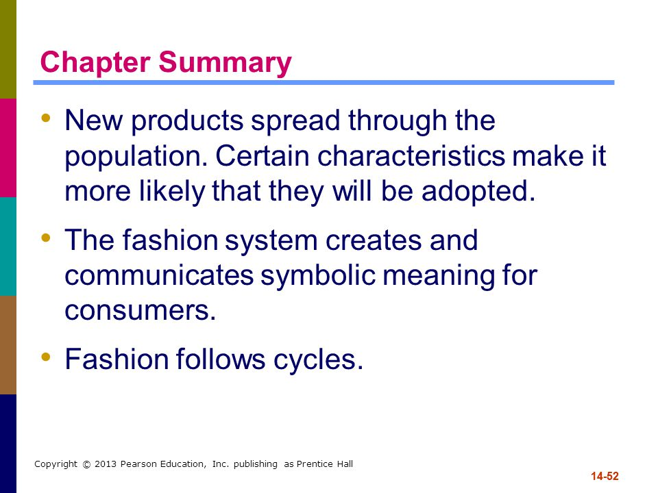 Fashion follows cycles.