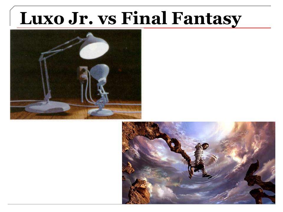 Luxo Jr. vs Final Fantasy