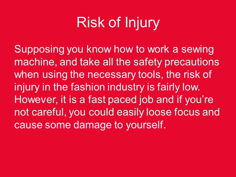 Risk of Injury