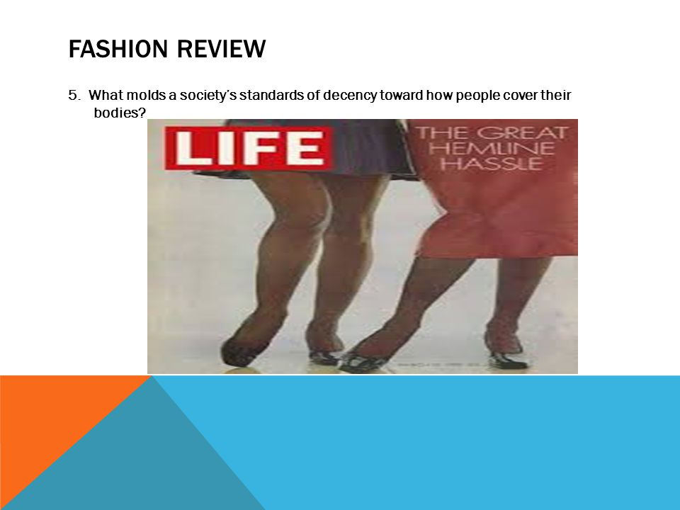 FASHION REVIEW 5.