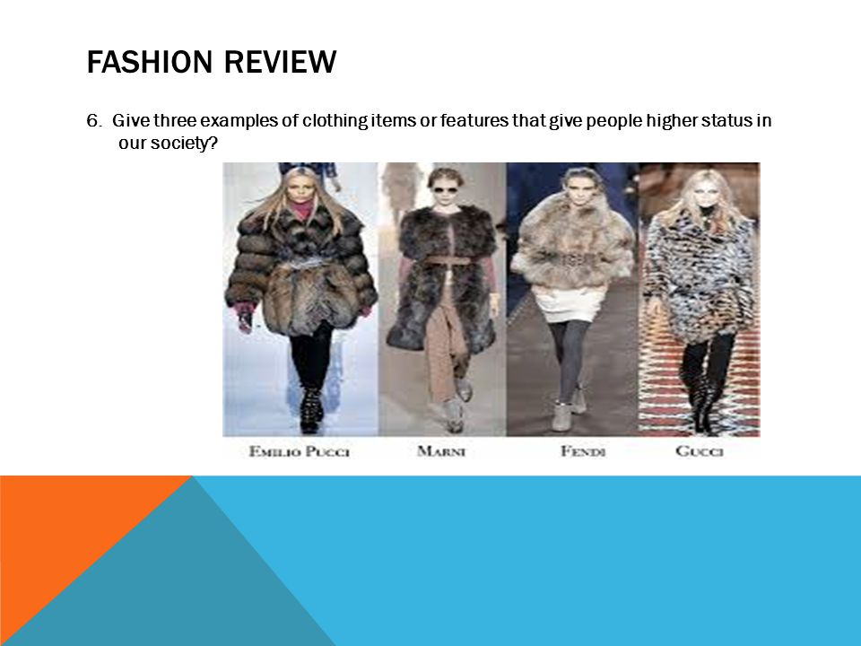 FASHION REVIEW 6.