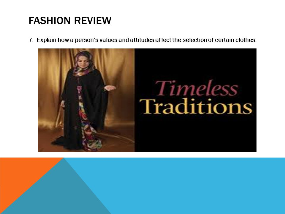 FASHION REVIEW 7.