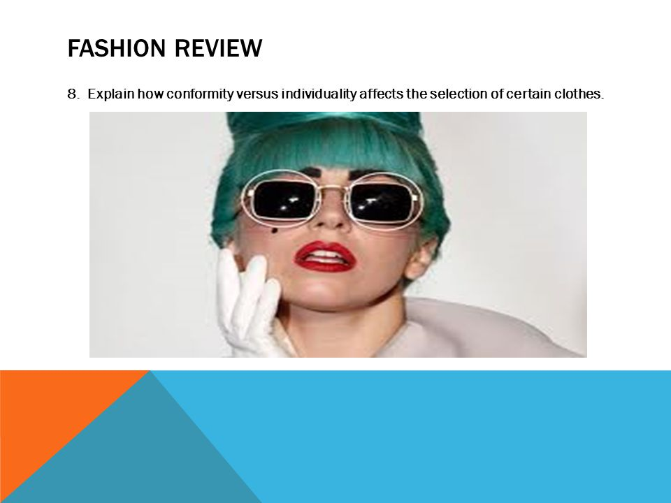 FASHION REVIEW 8.