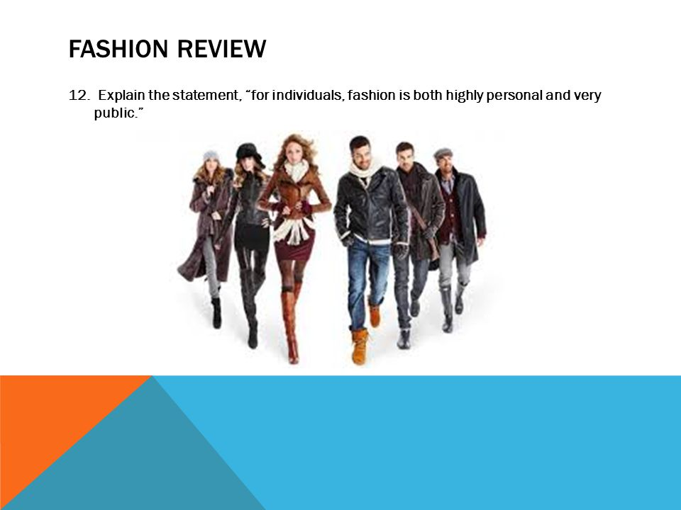 FASHION REVIEW 12.