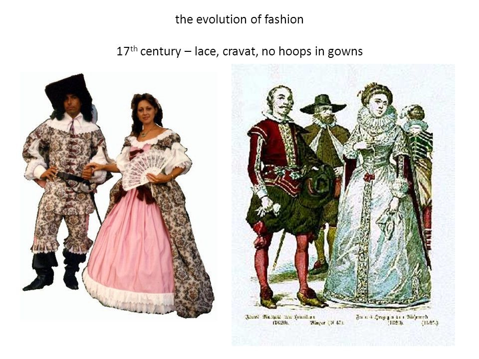the evolution of fashion 17th century – lace, cravat, no hoops in gowns