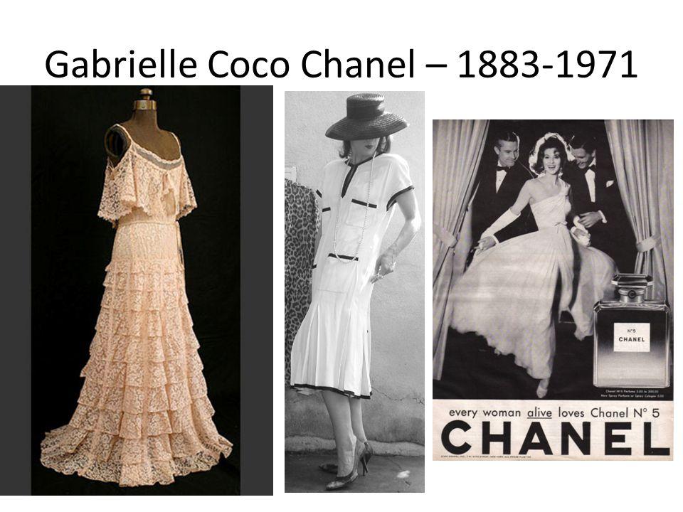 Gabrielle Coco Chanel – 1883-1971