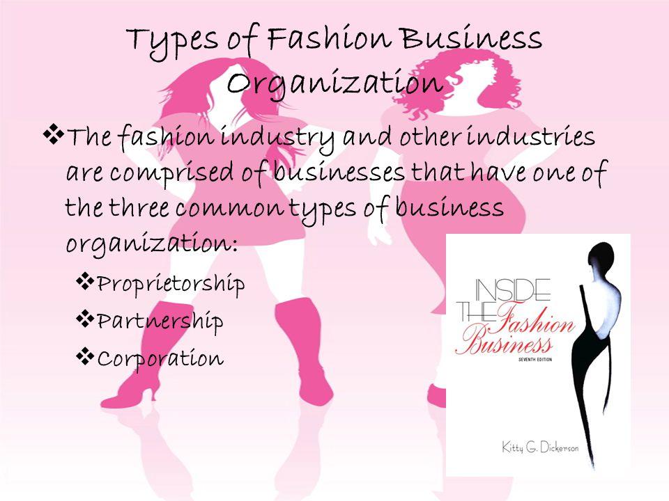 Types of Fashion Business Organization