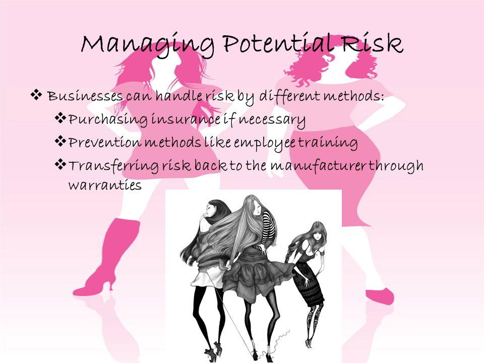 Managing Potential Risk