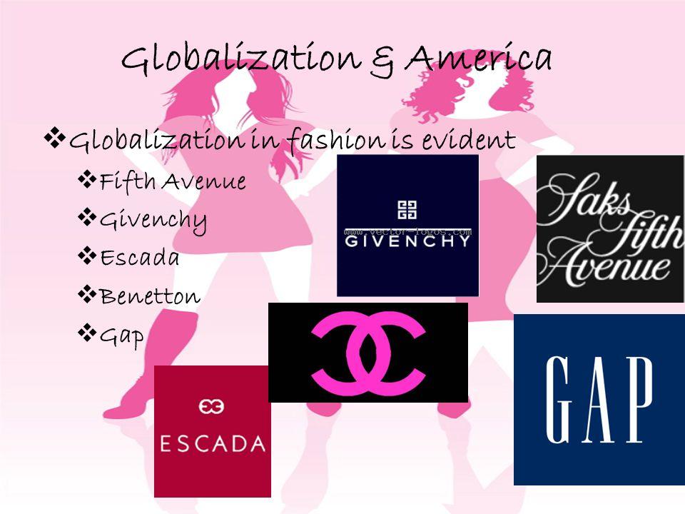 Globalization & America