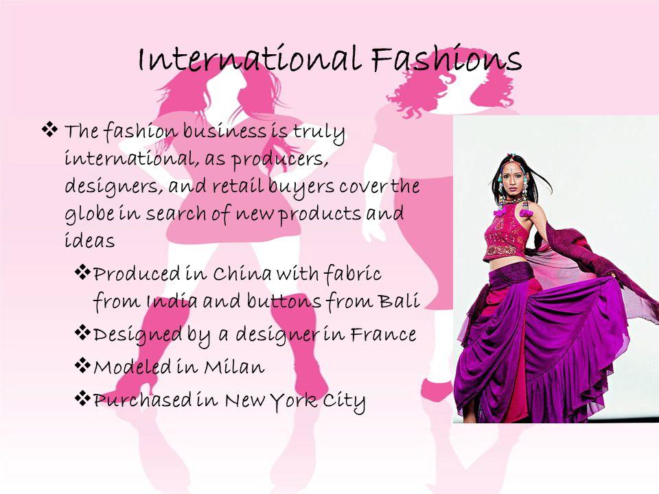 International Fashions