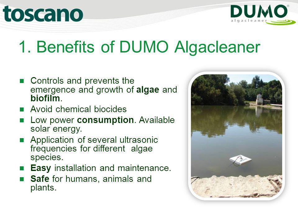 1. Benefits of DUMO Algacleaner