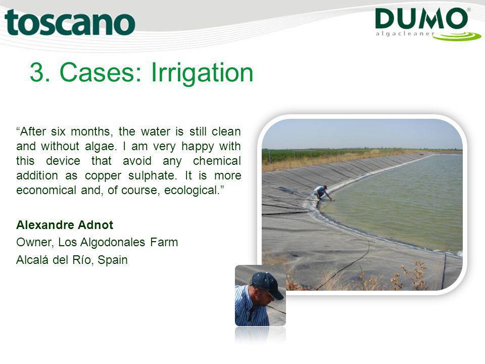 3. Cases: Irrigation