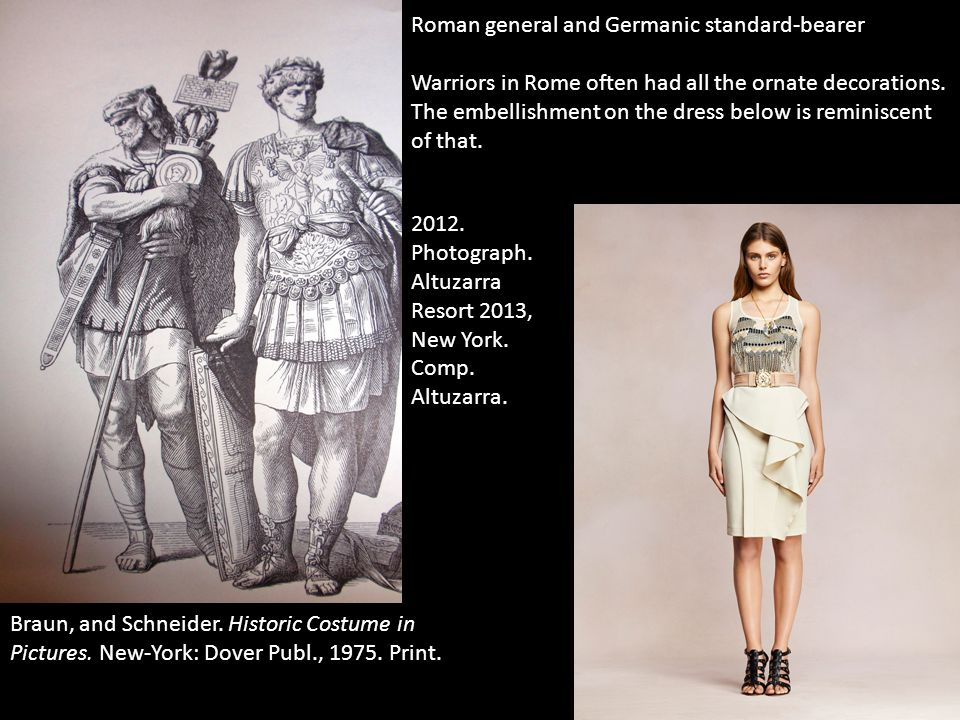 Roman general and Germanic standard-bearer