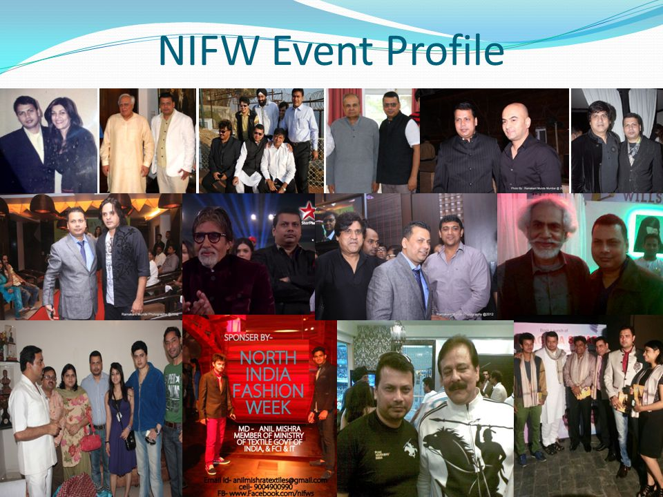 NIFW Event Profile