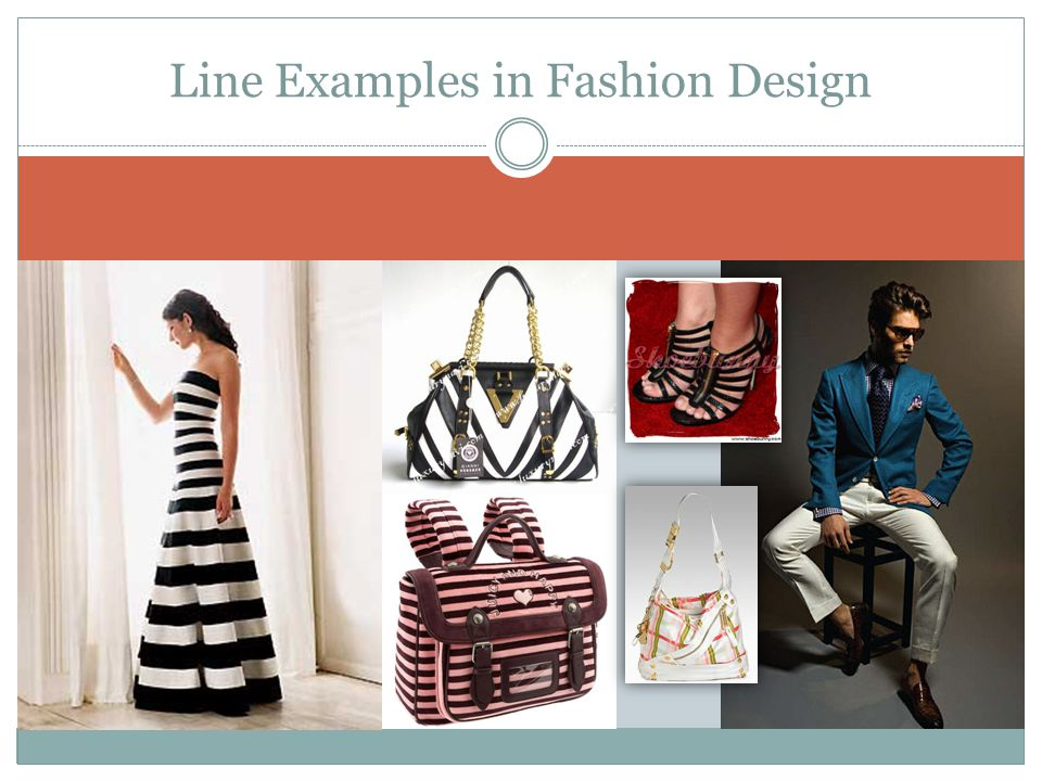 Line Examples in Fashion Design