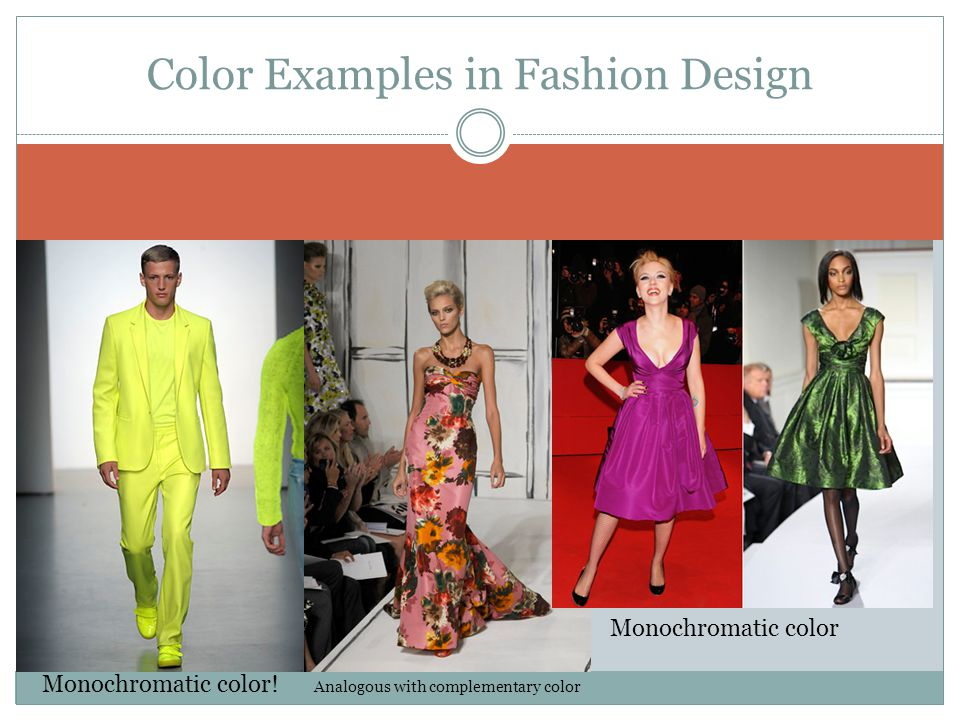 Color Examples in Fashion Design