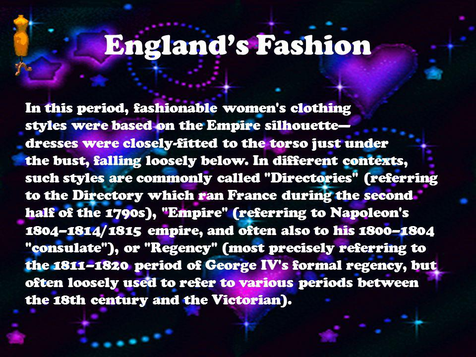 England's Fashion