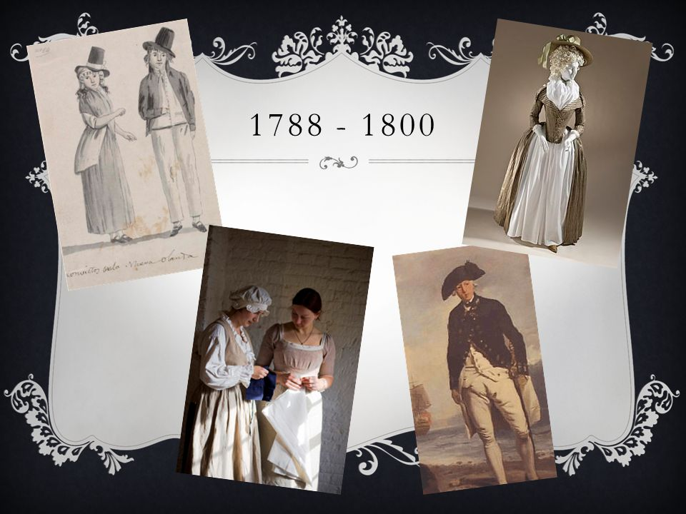 1788 - 1800