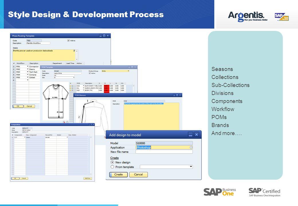 Style Design & Development Process