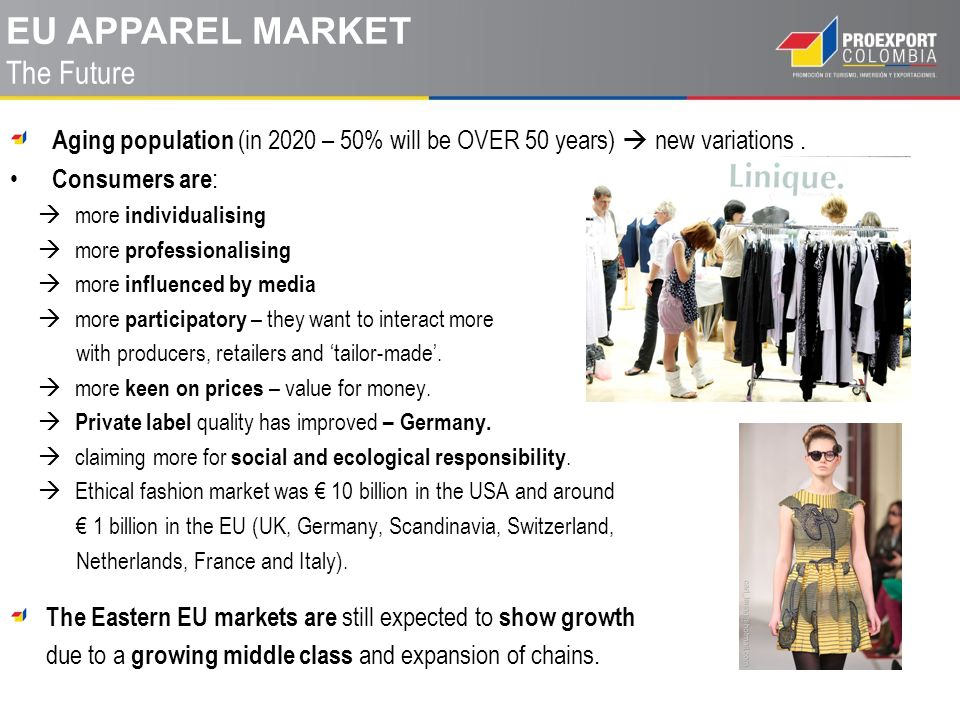 eu apparel MARKET The Future