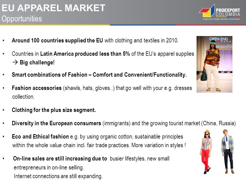 EU Apparel market Opportunities