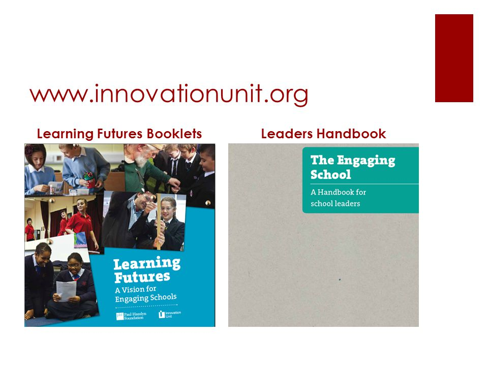Learning Futures Booklets