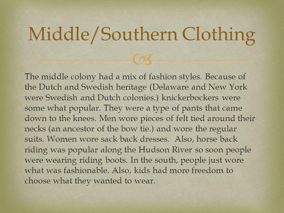 Middle/Southern Clothing