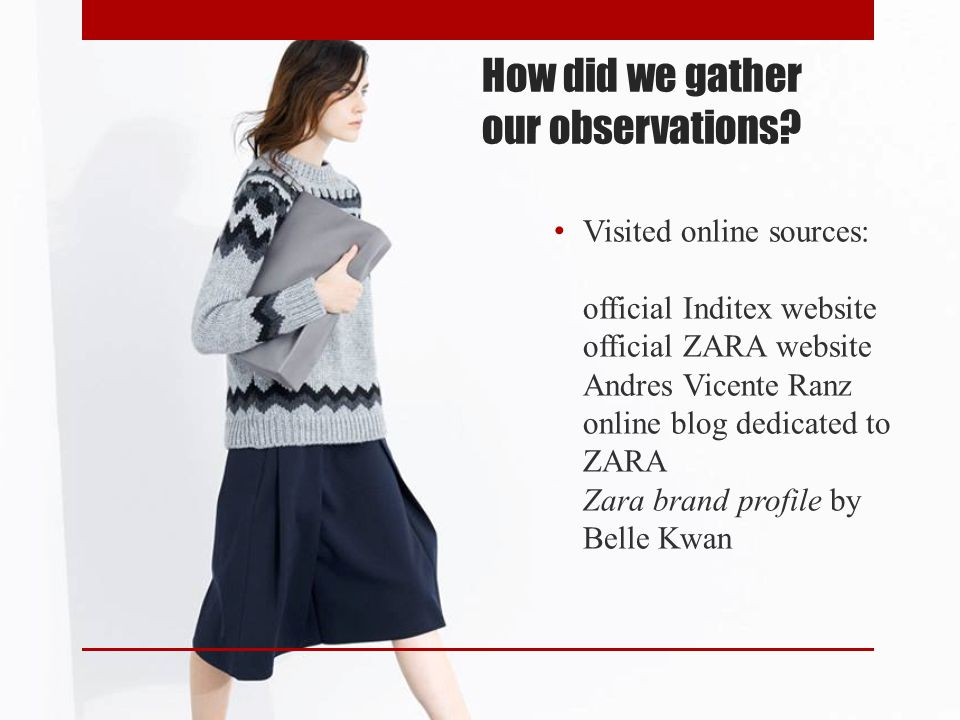 How did we gather our observations
