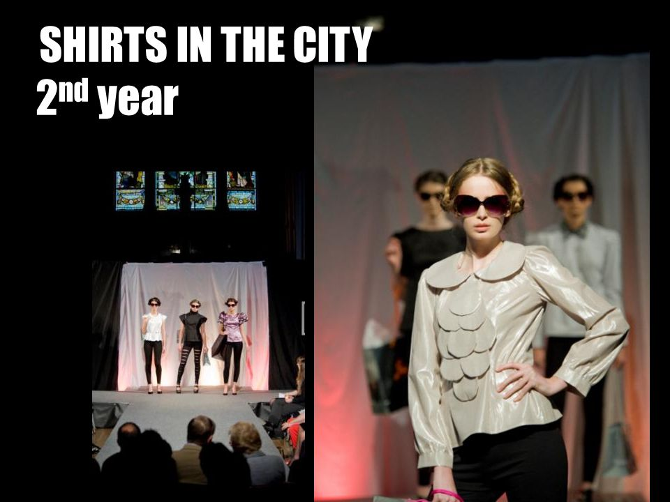 SHIRTS IN THE CITY 2nd year