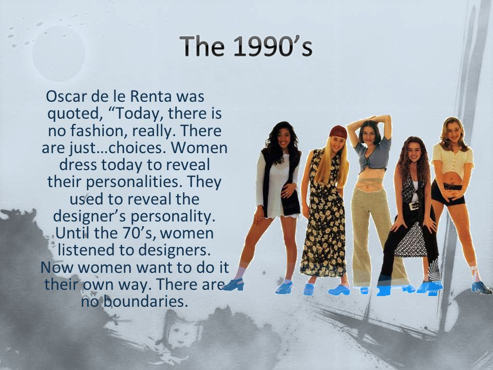 The 1990's