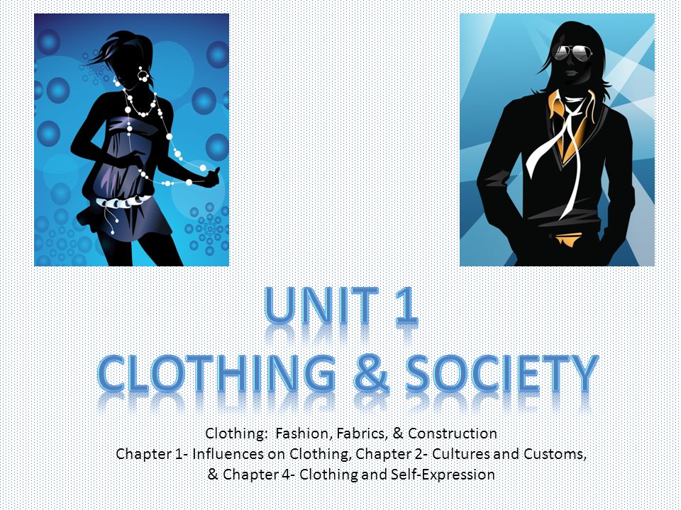 Unit 1 Clothing & Society