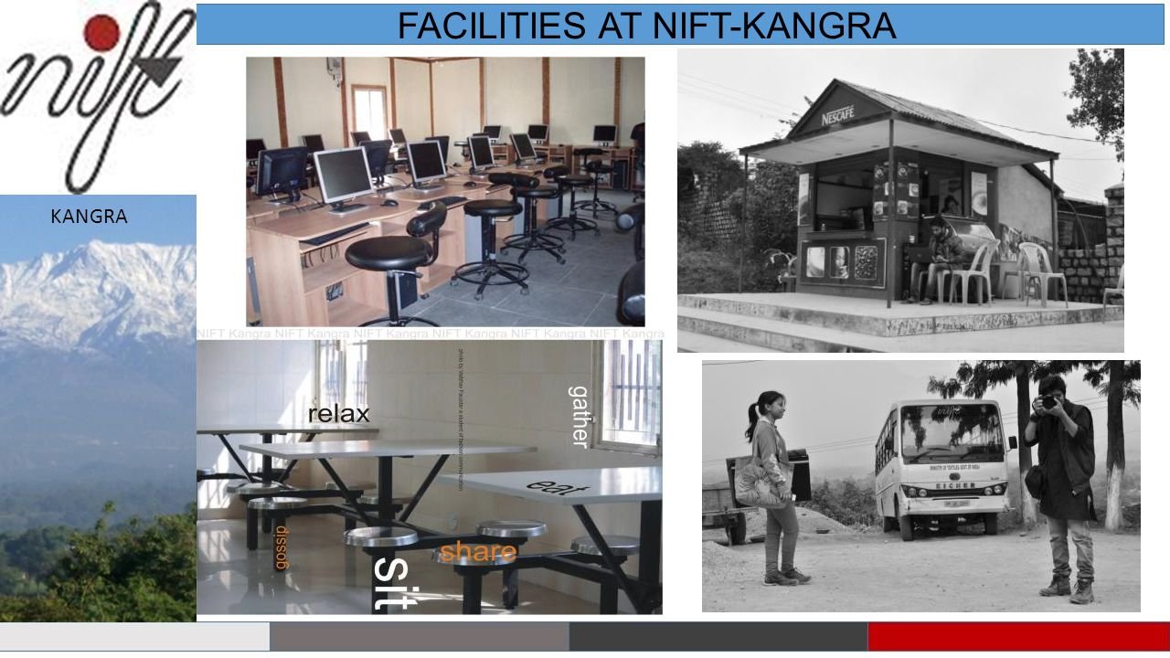 FACILITIES AT NIFT-KANGRA