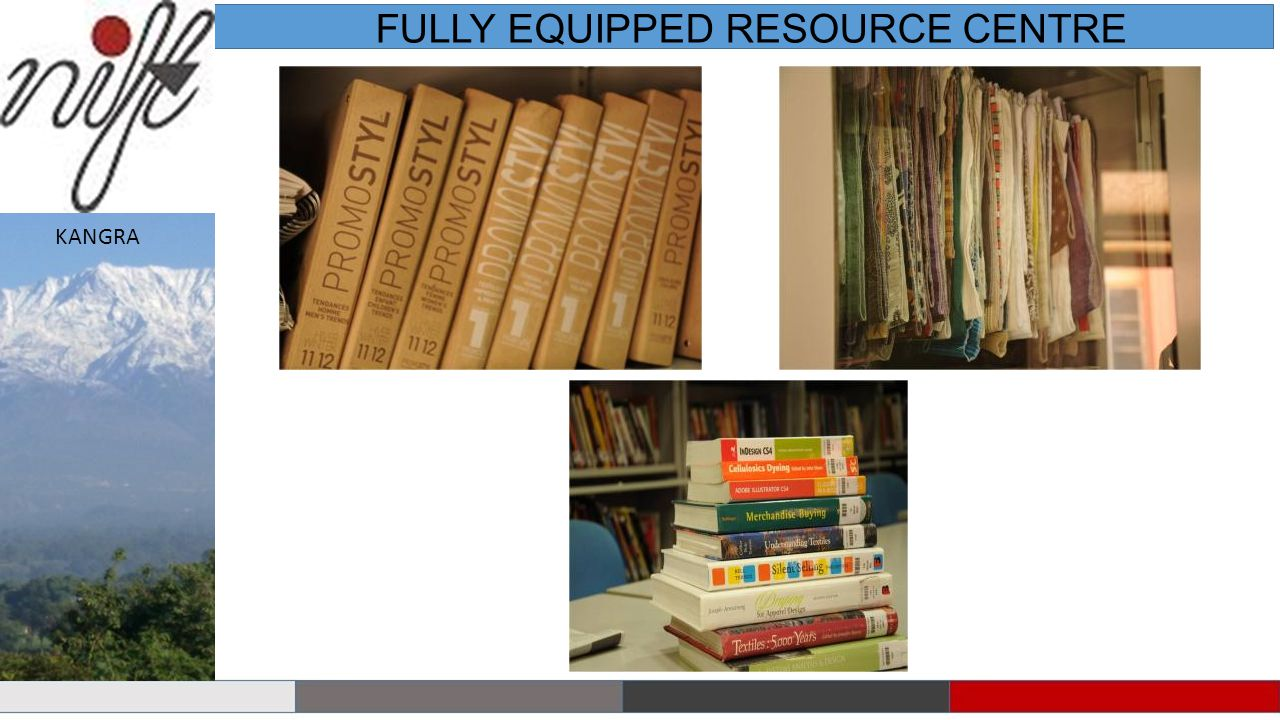 FULLY EQUIPPED RESOURCE CENTRE