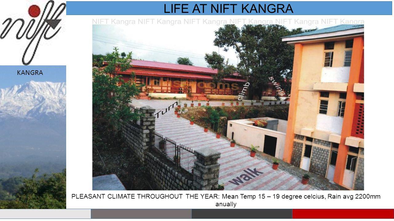 LIFE AT NIFT KANGRA KANGRA