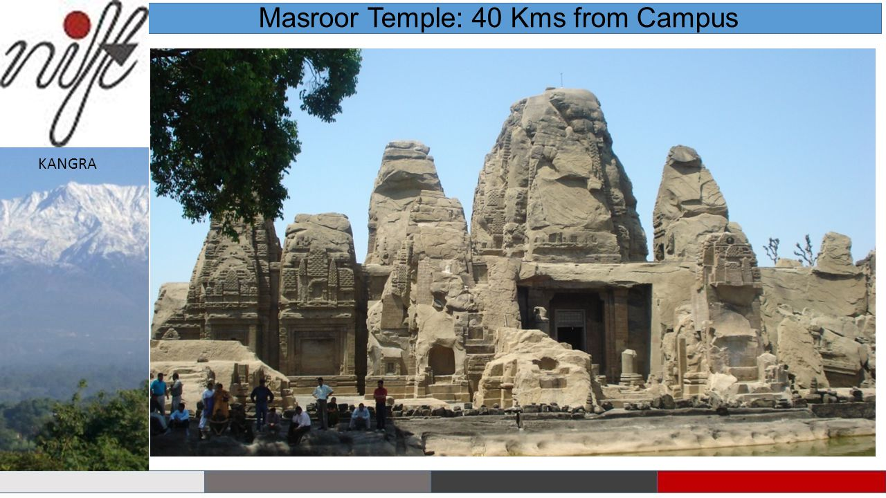 Masroor Temple: 40 Kms from Campus