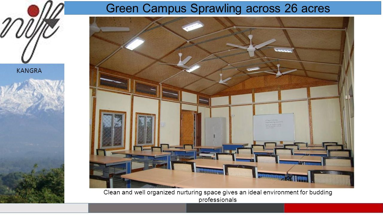 Green Campus Sprawling across 26 acres