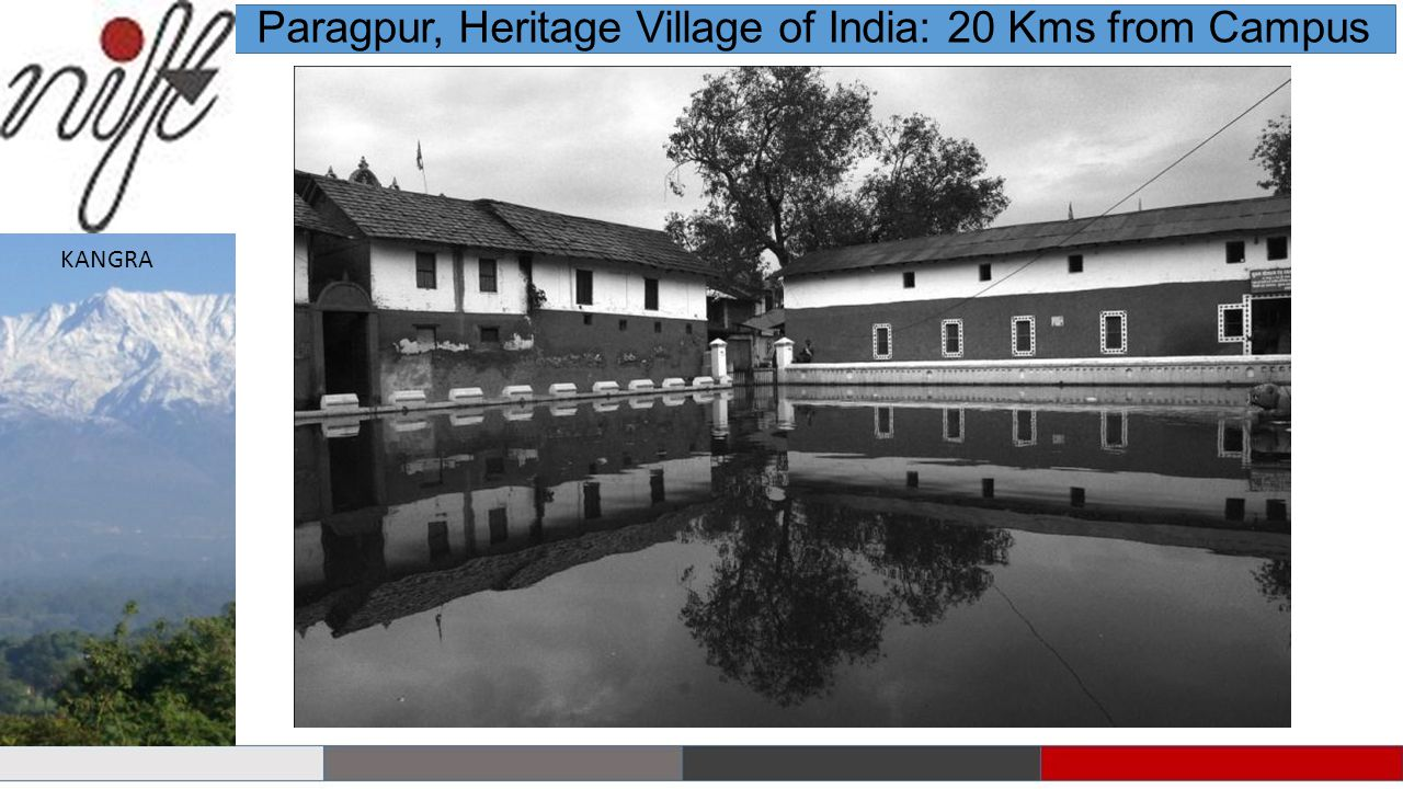 Paragpur, Heritage Village of India: 20 Kms from Campus