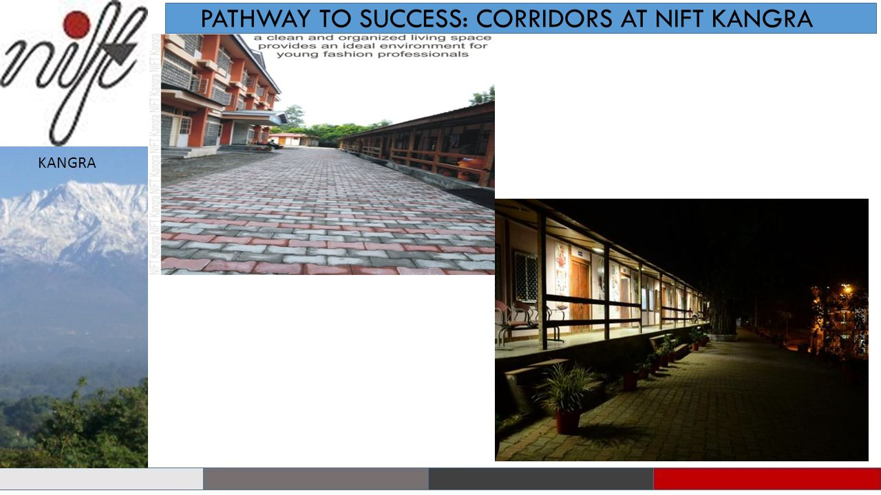 PATHWAY TO SUCCESS: CORRIDORS AT NIFT KANGRA