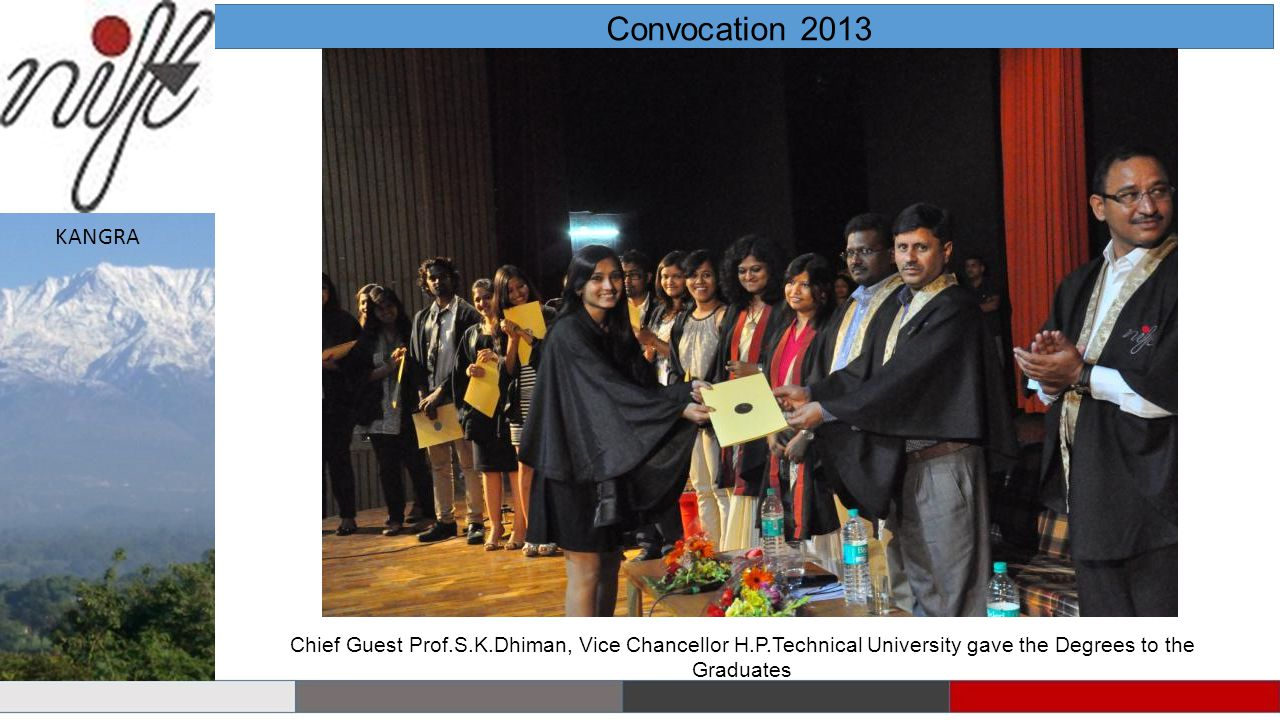 Convocation 2013 KANGRA.