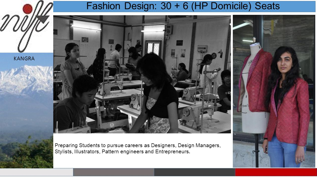 Fashion Design: 30 + 6 (HP Domicile) Seats