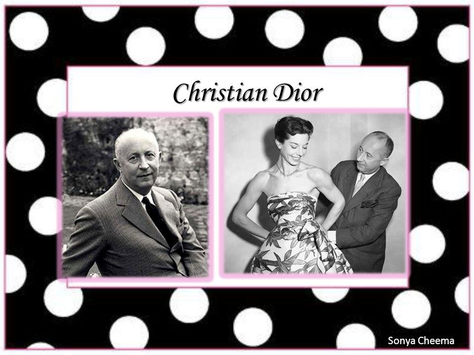 Christian Dior Sonya Cheema